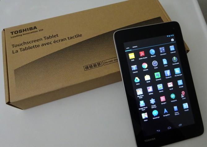 Review: Toshiba Excite AT7-B618 – Robert Setiadi Website